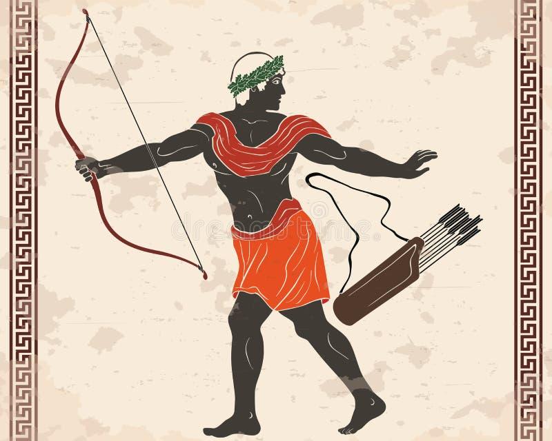 Ancient Greek Archer Stock Illustrations – 411 Ancient Greek Archer Stock  Illustrations, Vectors & Clipart - Dreamstime