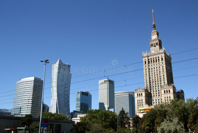 Download Warsaw Bussines District (Poland) Editorial Stock Image - Image: 33585099