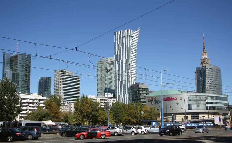 Download Warsaw Bussines District (Poland) Editorial Photo - Image: 33585116