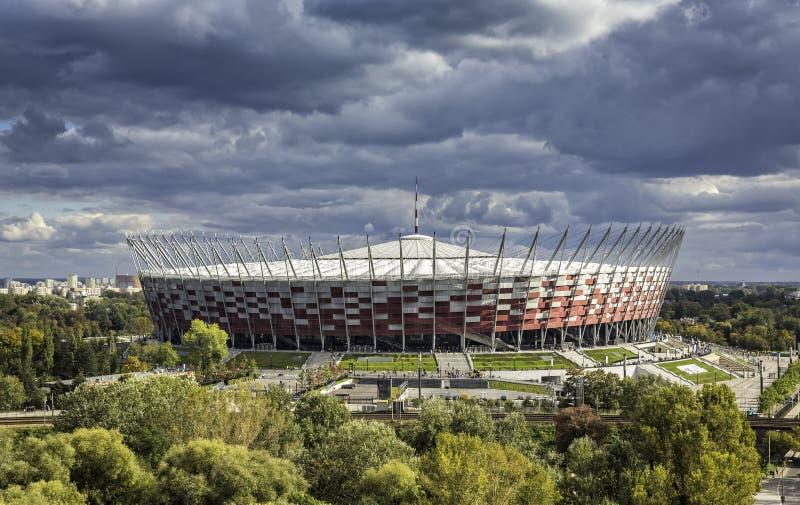 Warsaw National Stadium royalty free stock images