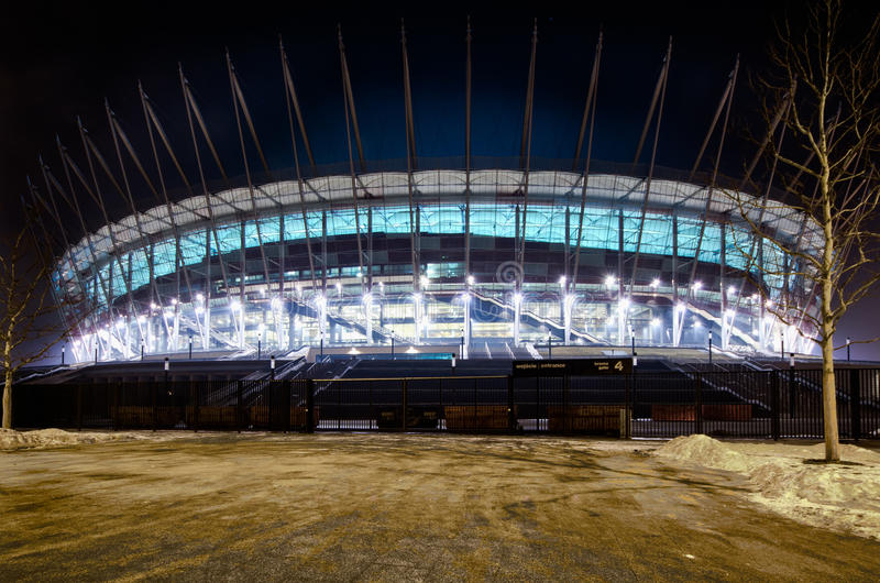 Download Warsaw New National Stadium, Poland Editorial Photography - Image: 23518592