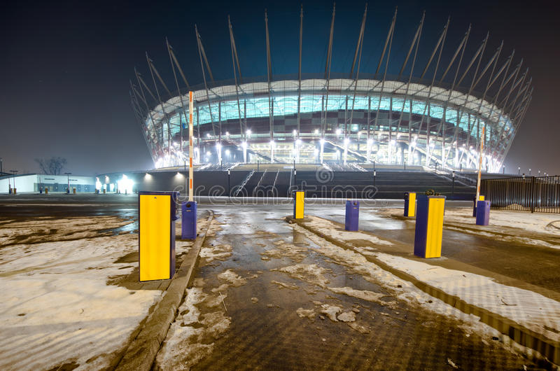 Warsaw New National Stadium, Poland Editorial Photo