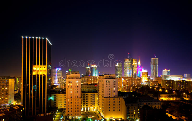 Warsaw Poland stock images