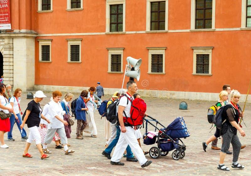 Download Warsaw Religijny Korowód Pielgrzymi Zdjęcie Editorial - Obraz złożonej z catholicism, siostry: 57672381