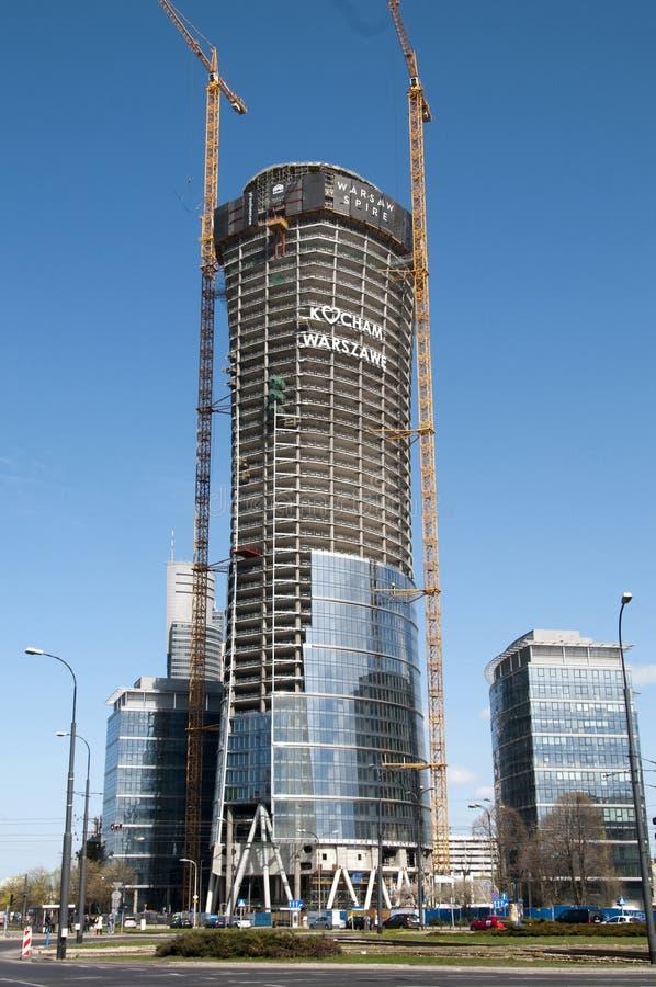 Download Warsaw Spire Editorial Image - Image: 53309535