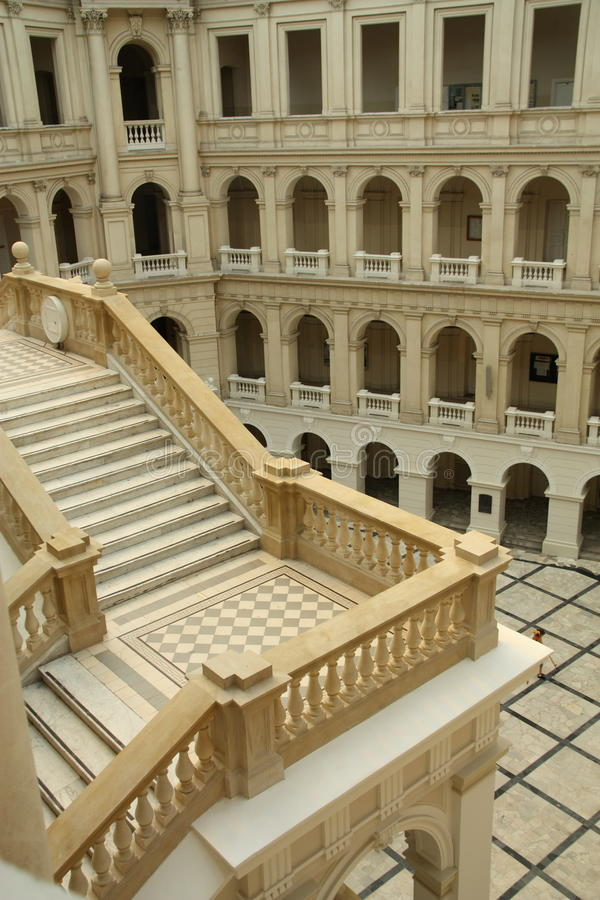 Warsaw University of Technology royalty free stock photos
