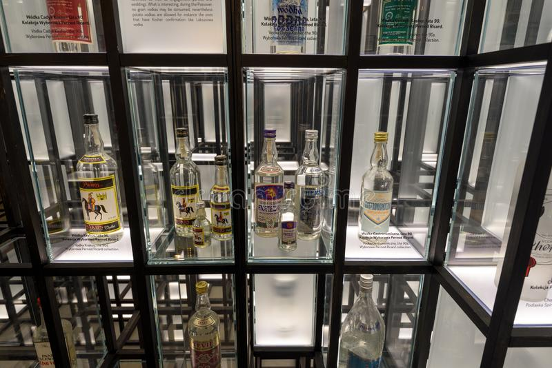 Warsaw Vodka Museum, Warsaw, Poland royalty free stock images