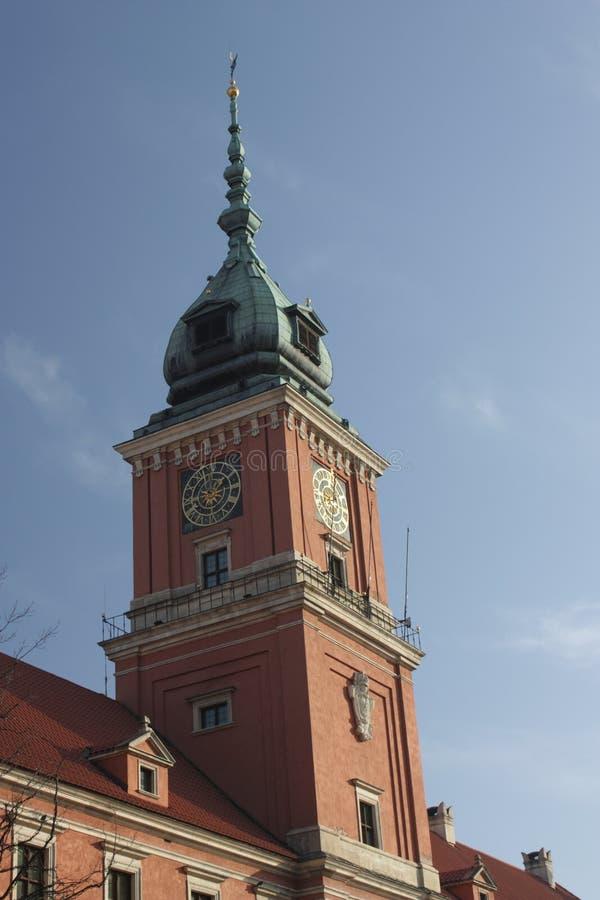 Warschau - das königliche Schloss lizenzfreie stockbilder