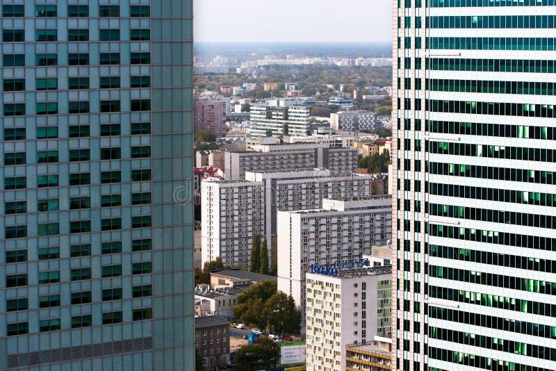 WARSCHAU-STADT stockfotografie