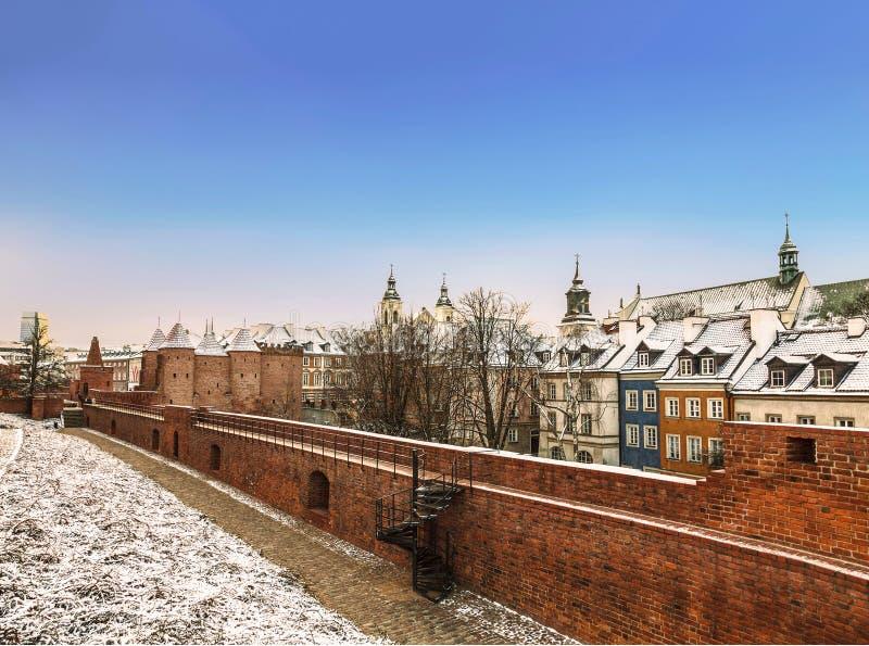 Warschau-Vorwerk in der Hauptstadt von Polen lizenzfreie stockfotos