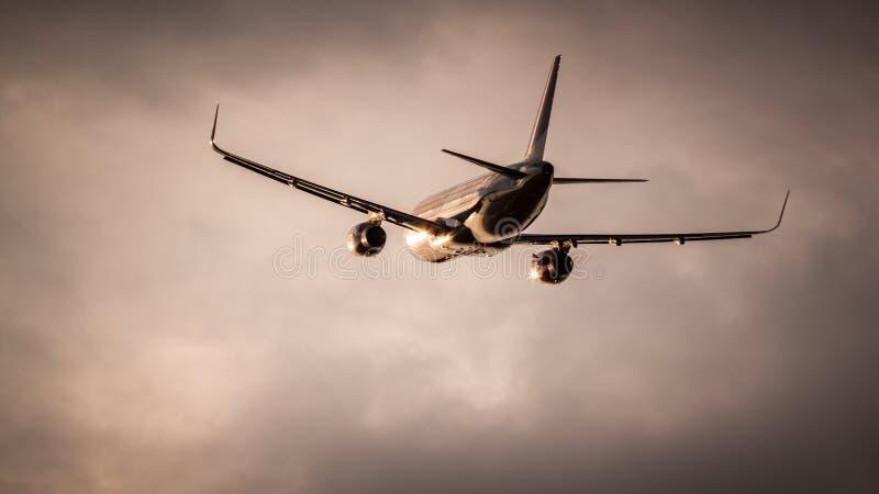Warshau - Frederic Chopin Airport stock foto