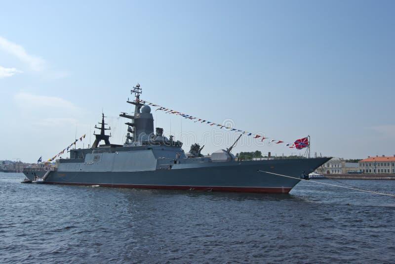 Warship. royalty free stock image