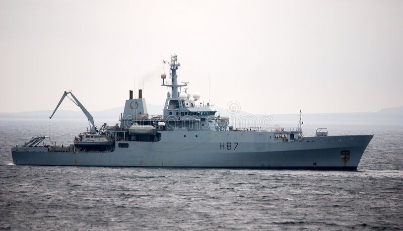 Download Warship. stock photo. Image of anchored, marine, water - 2959806