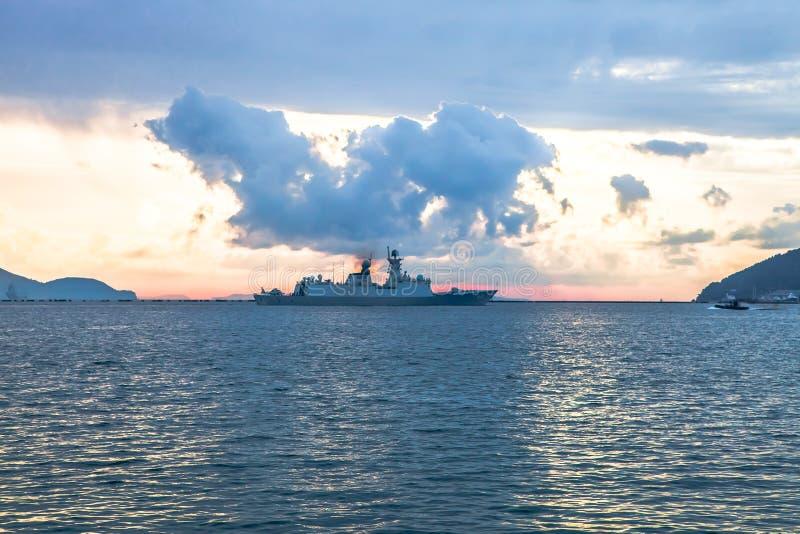 warship zdjęcie stock