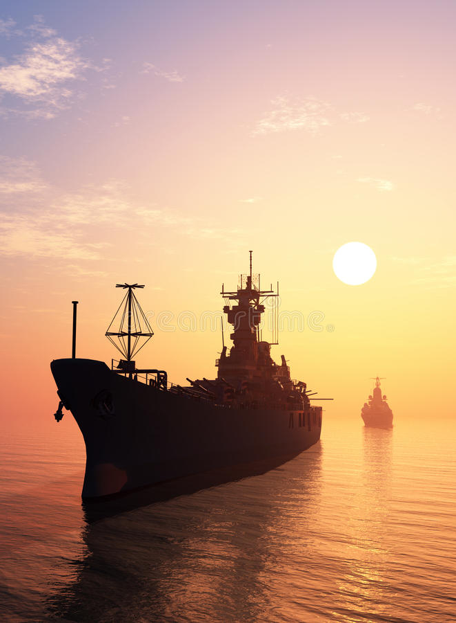 warship libre illustration