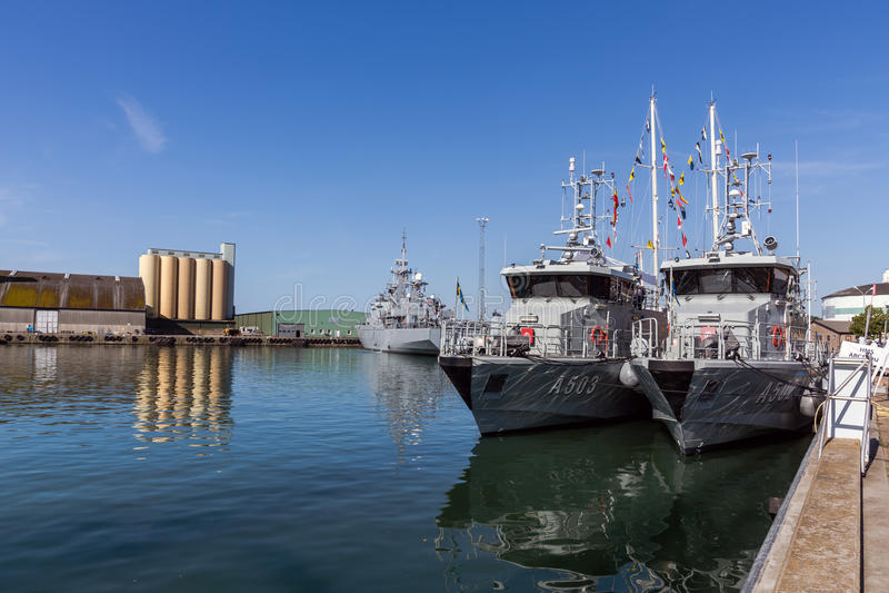warships imagens de stock royalty free