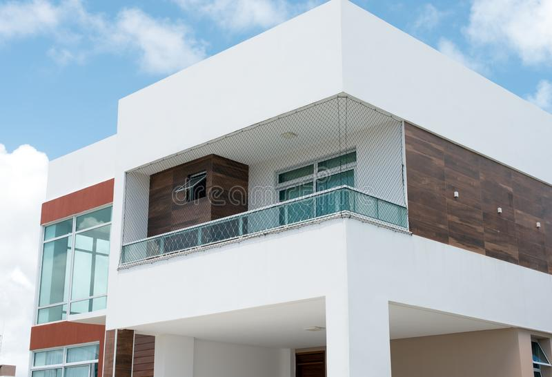 Warstwa wyższa dom w Brazylia zdjęcie stock