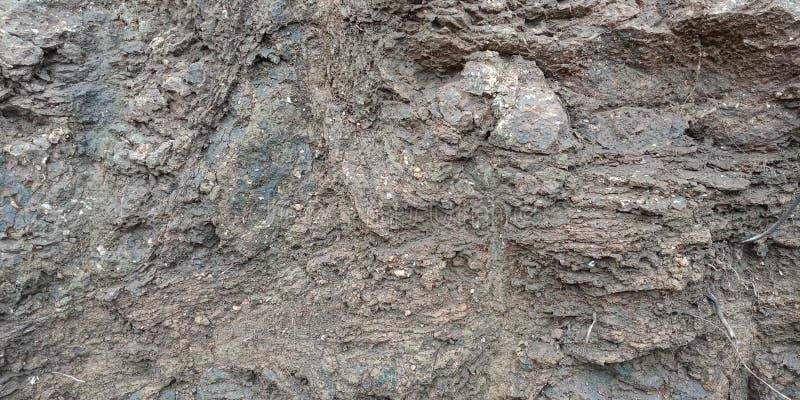 Warstwy kamień textured tło tapeta, fotografia stock