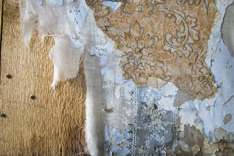 Warstwy obieranie tapeta, Bodie, Kalifornia zdjęcie royalty free