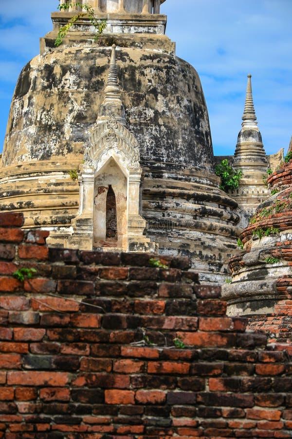 Warstwy ruiny i antyczni budynki fotografia royalty free