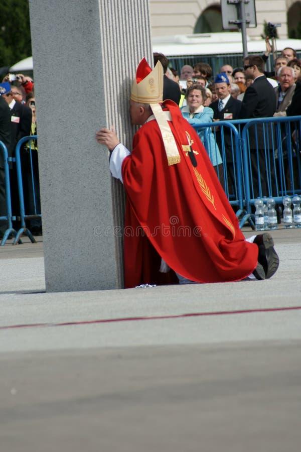 Warszaw, Polonia - 6 de junio: Arzobispo Kazimierz Ny fotos de archivo libres de regalías