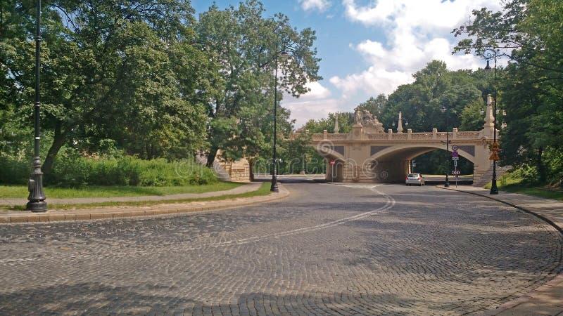 Warszawa - Polen royaltyfria foton