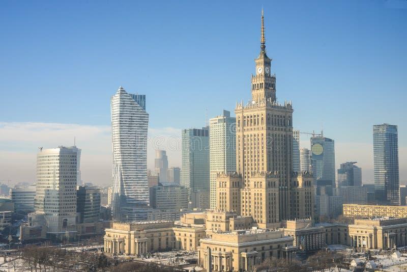 Warszawa, Polska obrazy royalty free