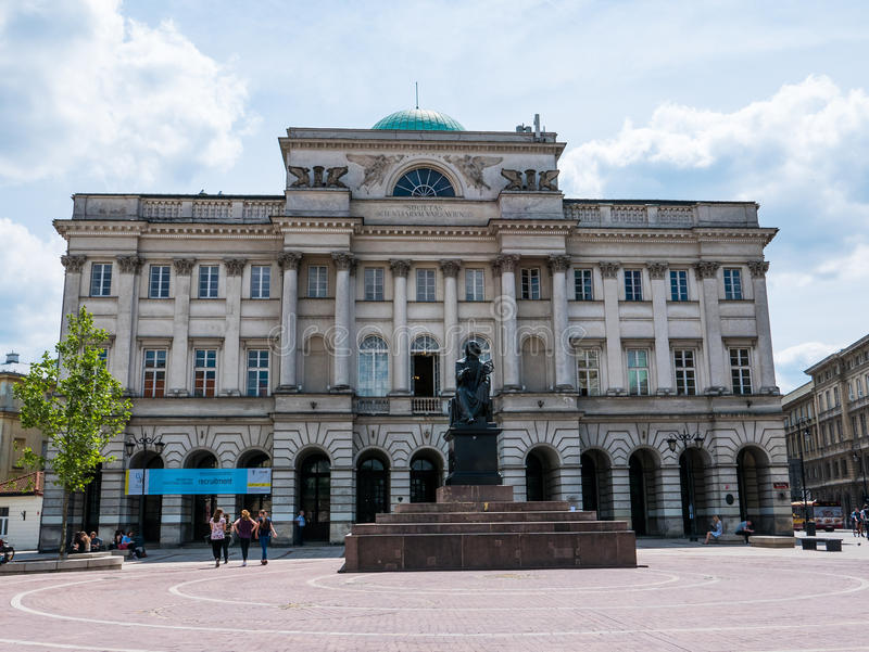 Warszawa, Polska obraz stock