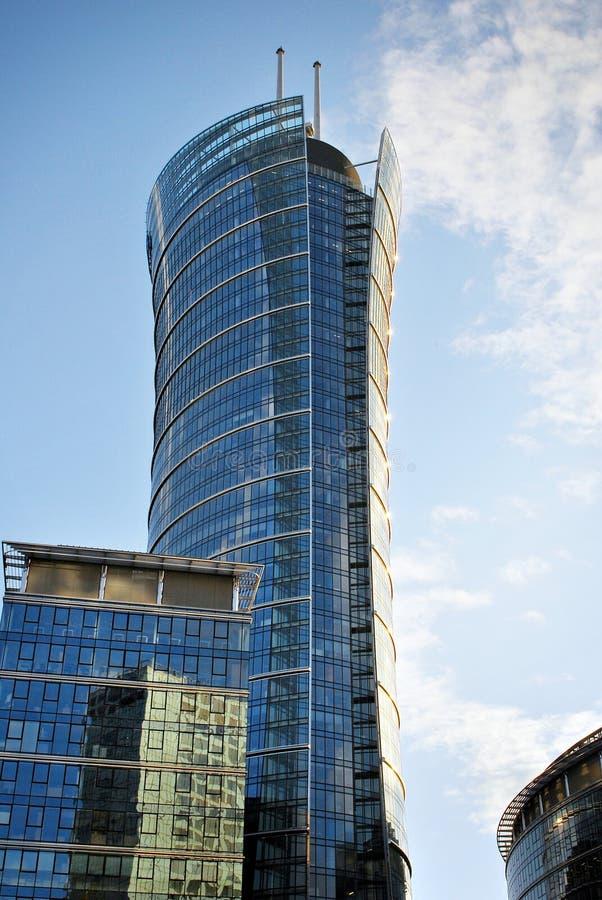 Warszawski iglica budynek biurowy obraz stock