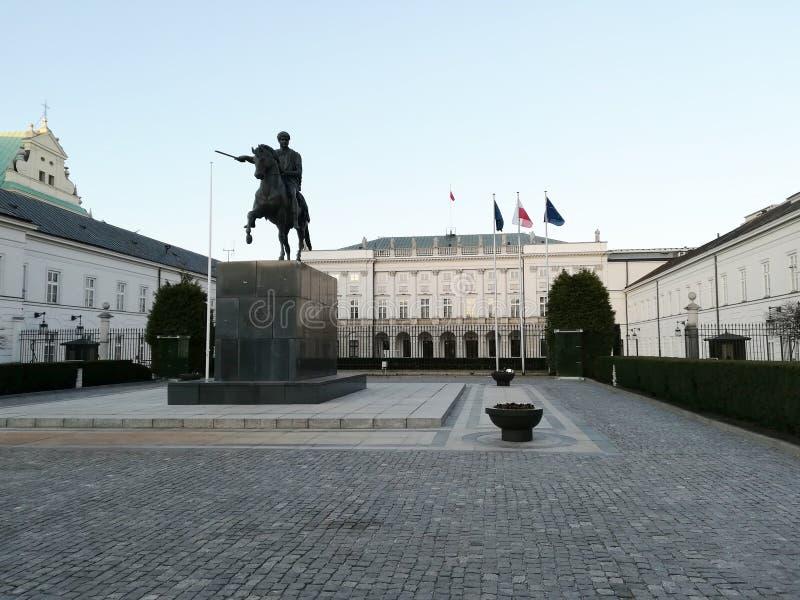 Warszawski prezydencki pałac zdjęcie stock