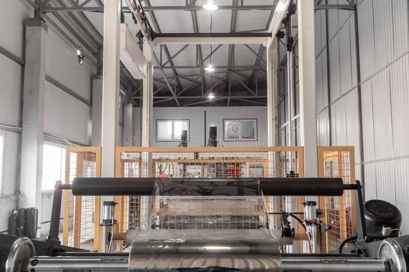 Warsztat dla produkci polypropylene i polietylen obraz stock