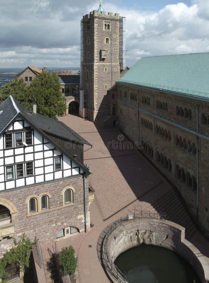 Wartburg royalty-vrije stock afbeeldingen