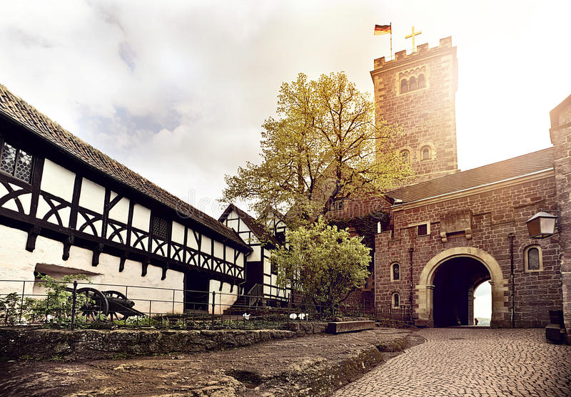 Wartburg Castle στοκ εικόνες με δικαίωμα ελεύθερης χρήσης