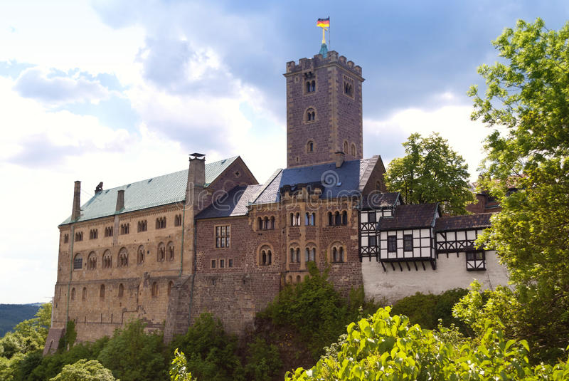 Wartburg-Kasteel royalty-vrije stock foto