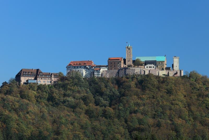 Wartburg-Kasteel in Duitsland royalty-vrije stock foto's