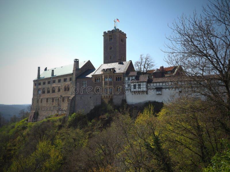 Wartburg kasztel - Niemcy 2019 obraz royalty free