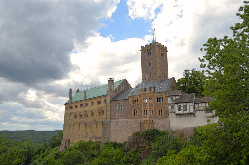 Wartburg-Schloss lizenzfreie stockfotografie