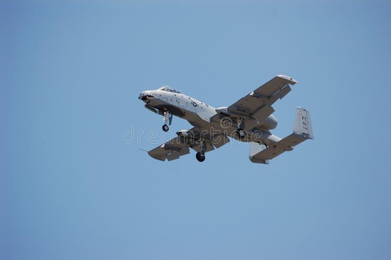 Warthog. An A10 Thunderbolt II Close air support attack aircraft royalty free stock photos