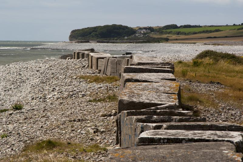 Wartime defences royalty free stock image