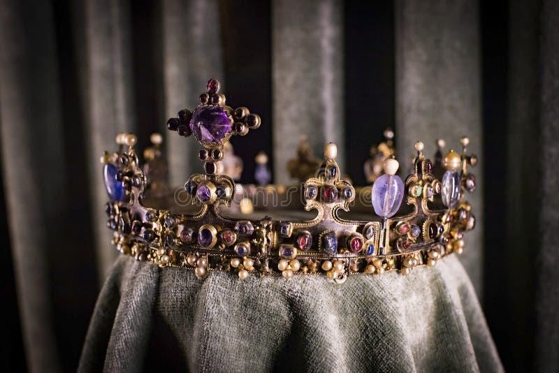 Wartości i artefakta skarbiec Bawarscy królewiątka w siedzibie Bawarski królestwo w Monachium zdjęcie royalty free