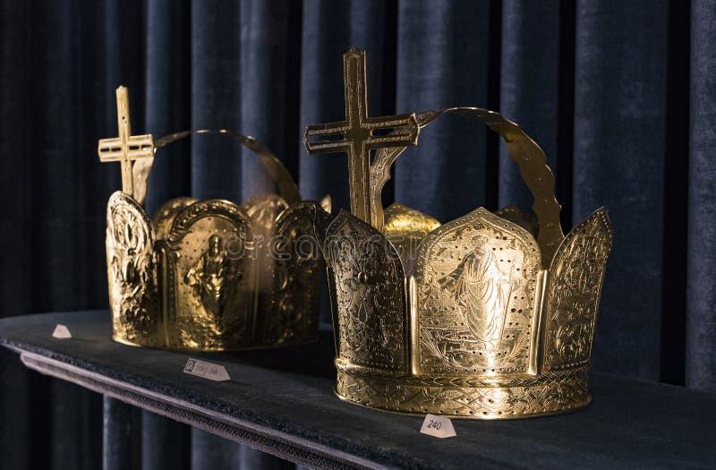 Wartości i artefakta skarbiec Bawarscy królewiątka w siedzibie Bawarski królestwo w Monachium obraz stock