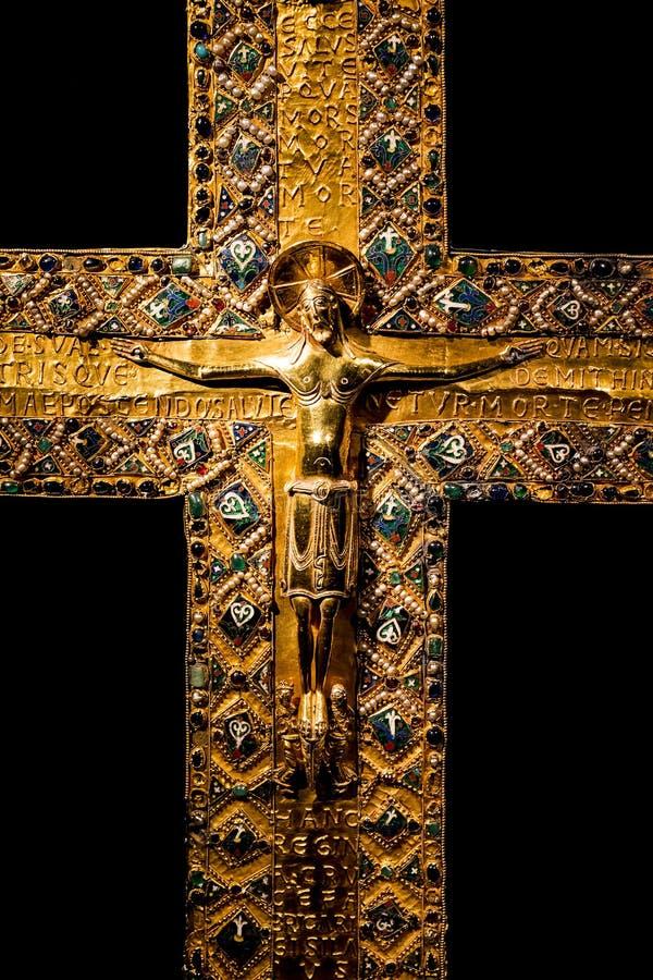 Wartości i artefakta skarbiec Bawarscy królewiątka w siedzibie Bawarski królestwo w Monachium obrazy royalty free