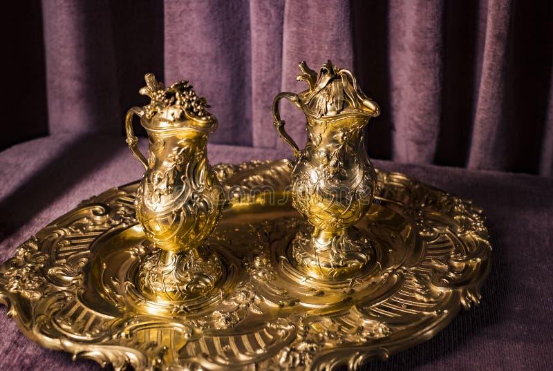 Wartości i artefakta skarbiec Bawarscy królewiątka w siedzibie Bawarski królestwo w Monachium fotografia royalty free
