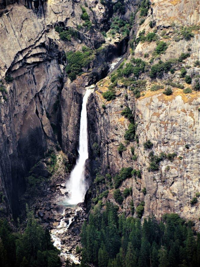 Wartowników spadki, Yosemite fotografia royalty free