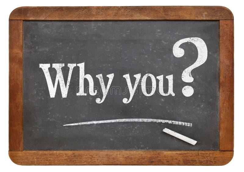 Warum Sie fragen lizenzfreies stockfoto