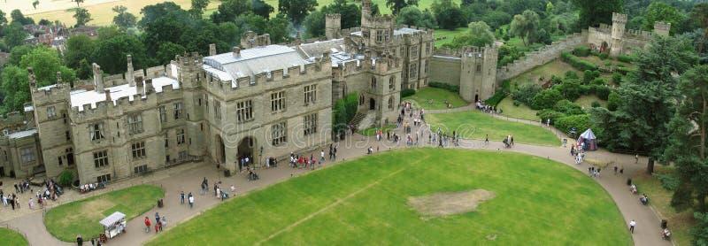 Warwick城堡 免版税库存照片
