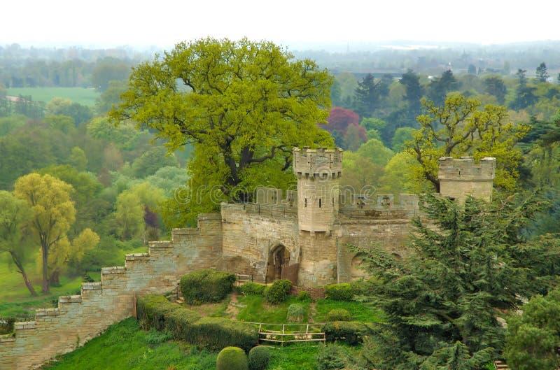 warwick 2 замоков стоковая фотография