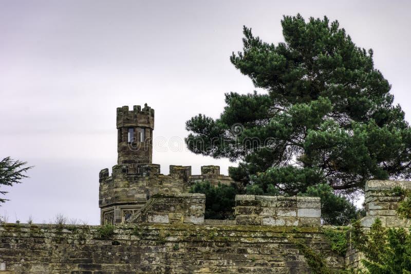Warwick Castle - ανάχωμα στοκ φωτογραφίες με δικαίωμα ελεύθερης χρήσης