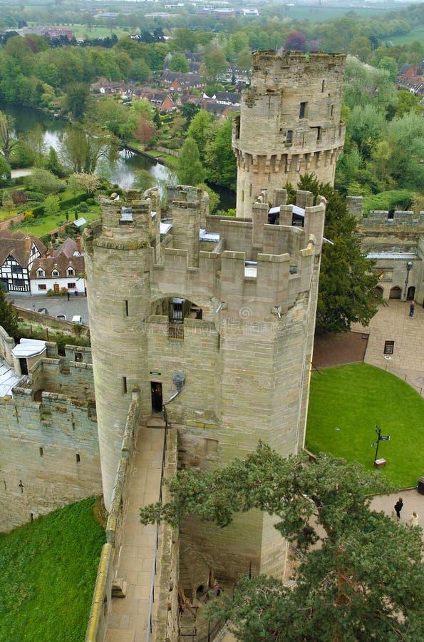 Warwick Castle 1 royalty free stock photos