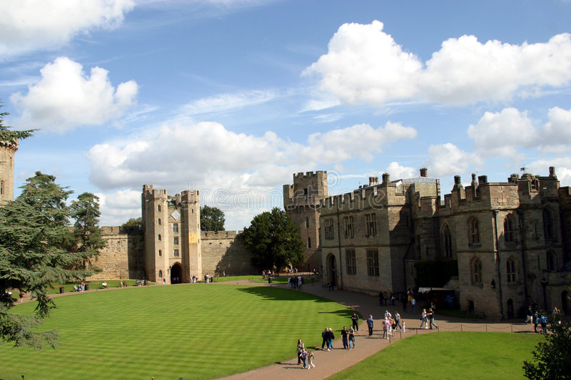 Download Warwick Castle stock photo. Image of castle, high, sight - 4995270